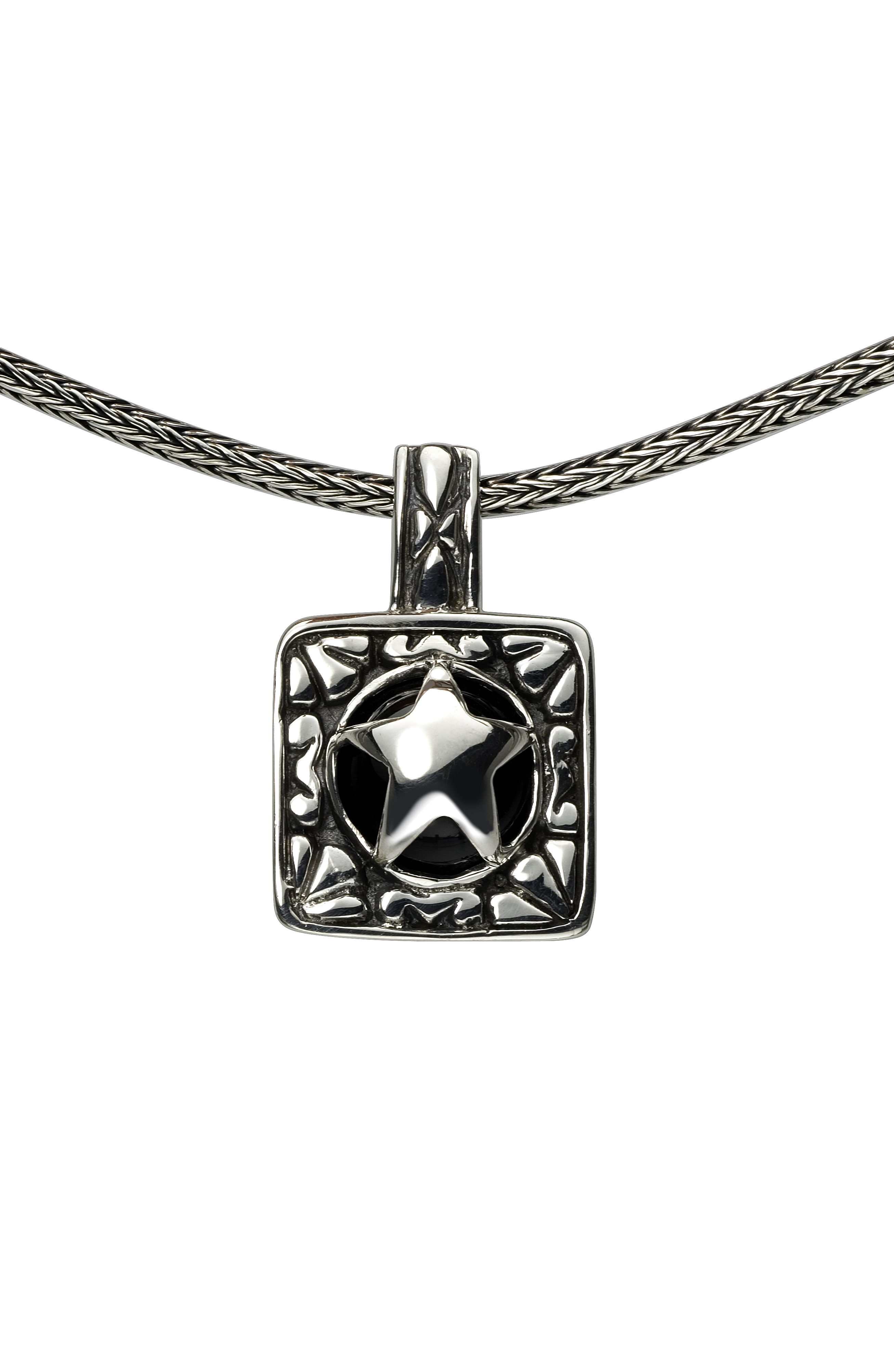 Texas Attitude - Sterling_Star_Pendant.jpg - brand name designer jewelry in Comfort, Texas