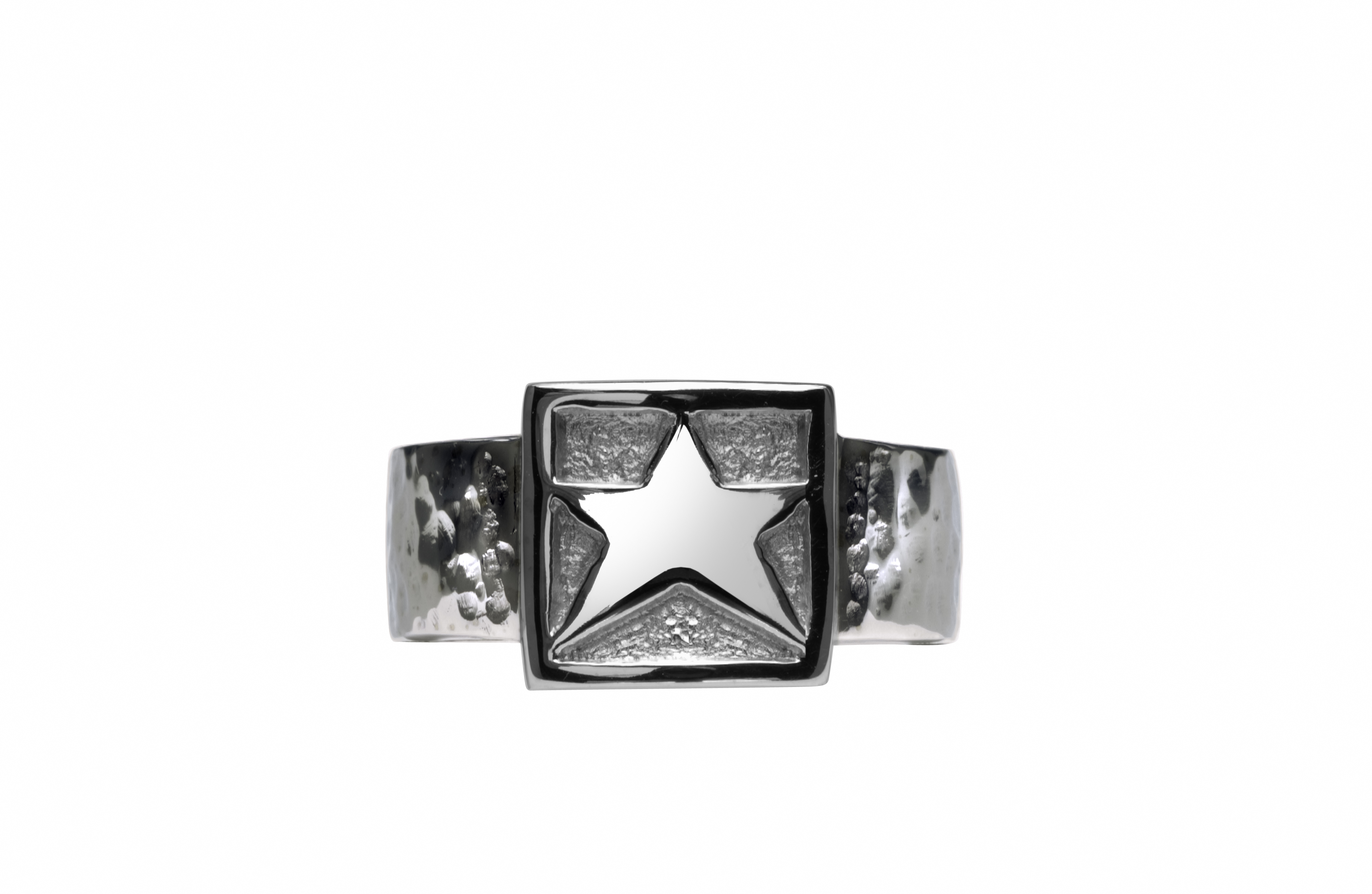 Texas Attitude - Sterling_Star_Ring.jpg - brand name designer jewelry in Comfort, Texas